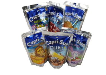 Nasz nowy produkt napoje Capri-Sun