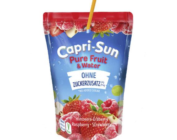 W naszej Polskiej ofercie znalazły się 2 nowe smaki soczków z mniejszą zawartością cukru –  malina – truskawka