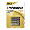 Baterie firmy Panasonic – LR03 4BP Alkaline Power