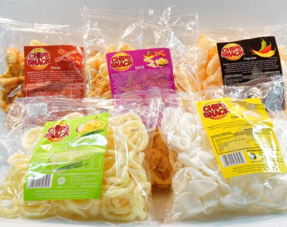 Chips Snack. Nasz nowy produkt.  Jest w 100% Polskim produktem.
